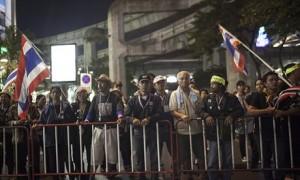 Thai anti-government protesters bangkok