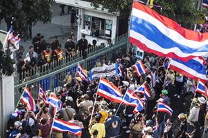 protesters thailand