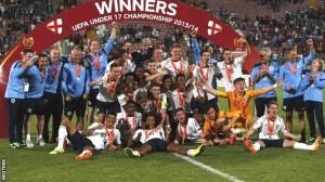 England win European Under-17 Championship