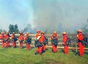 US jungle burn