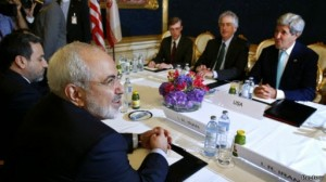 Kerry and Zarif.july 2014