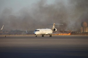 libya-airport-shelling