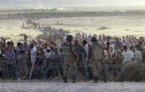 IS Syria Refugee