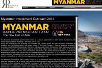 Myanmar Investment Forum 2014