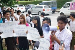 Yangon Student Protest10092014