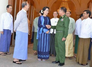 DASSK and Min Aung Hlaing 31102014 ---