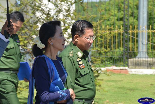 DASSK and Min Aung Hlaing 31102014