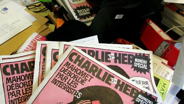IN Charlie Hebdo team work on new issue