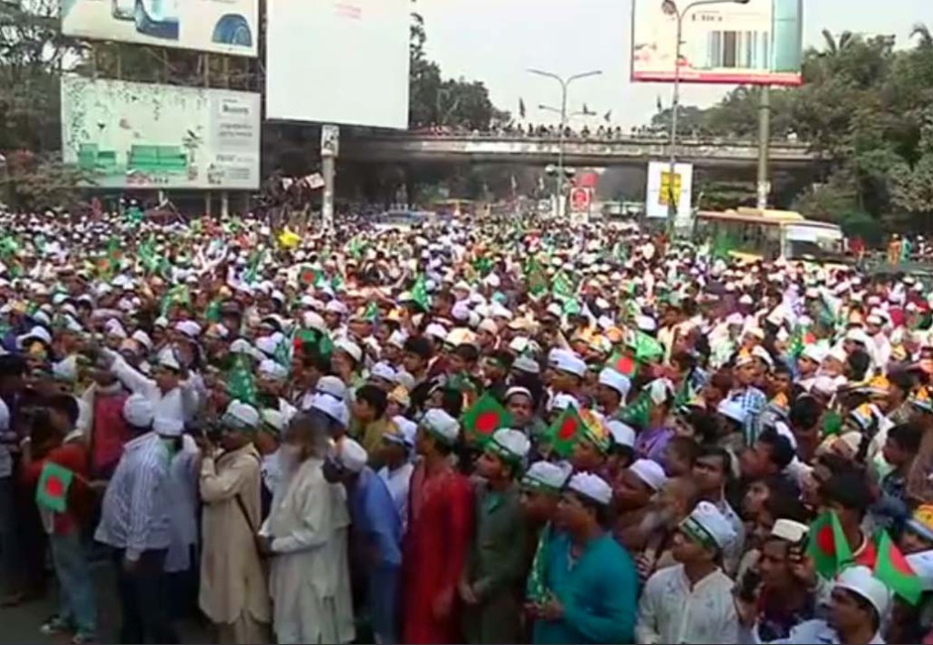 Thousands march on streets of Dhaka to celebrate prophet Mohammad's birthday