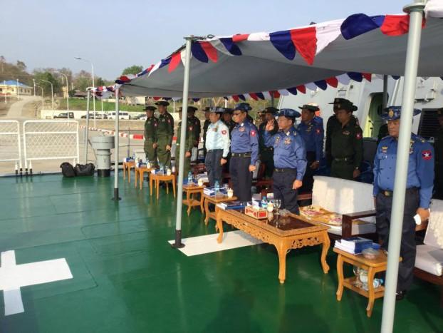 Myanmar military drill 6