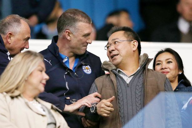 9 Leicester-City-manager-Nigel-Pearson-with-owner-Vichai-Srivaddhanaprabha