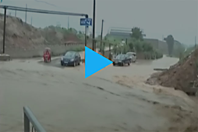 China downpour