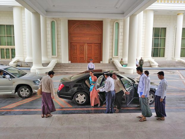 DASSK go to President'Home Meeting 1