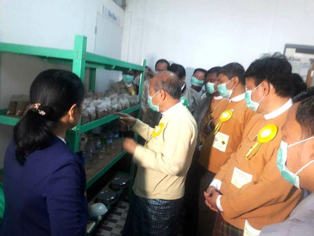 Opening Soil Lab at Magway 3