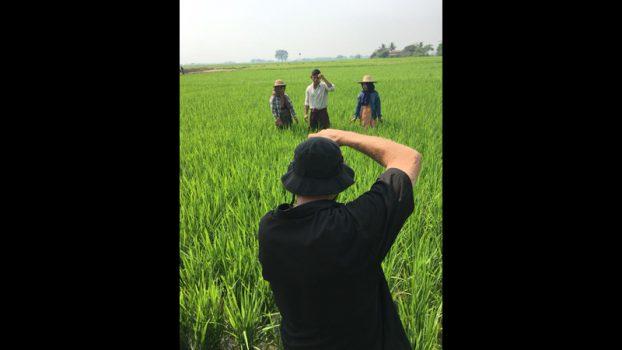 Aung La Nsang Shooting Myanmar Cowboy 3