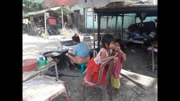 Myanmar Snacker Grandmother 6