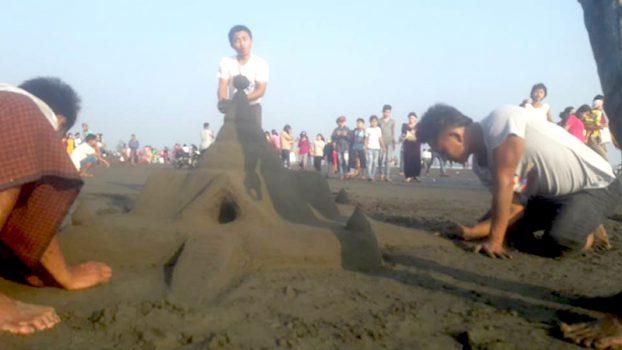 Sand Pagoda at Sittway 3