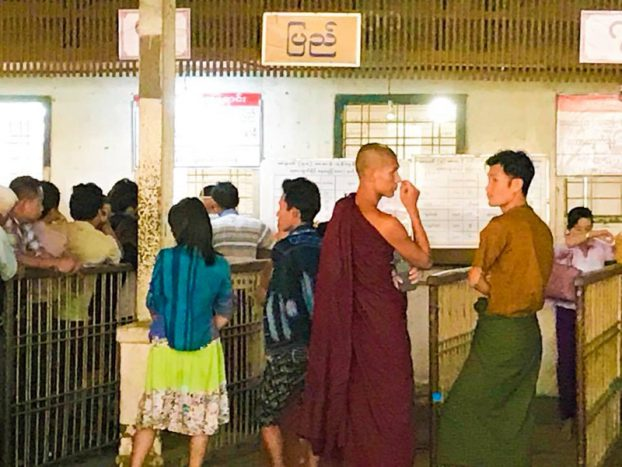 to buy Railways tickets for Thingyan Holidays 3
