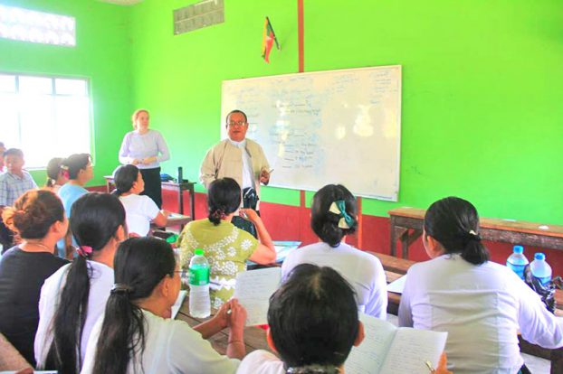Peace Corp Myanmar English Training 3