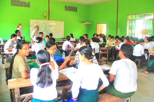 Peace Corp Myanmar English Training 4