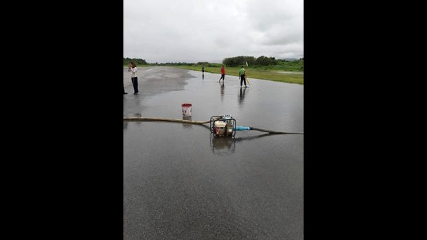 TarChiLeik airport closing because water float 2