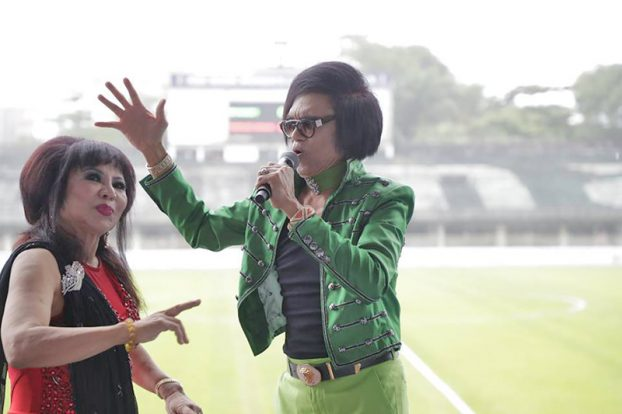 Singers sin Myanmar Women Football Match 4