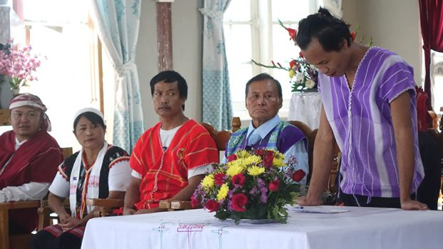 Kayin's Martyr's day at LoiKaw 3