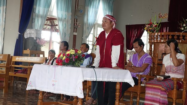 Kayin's Martyr's day at LoiKaw 4