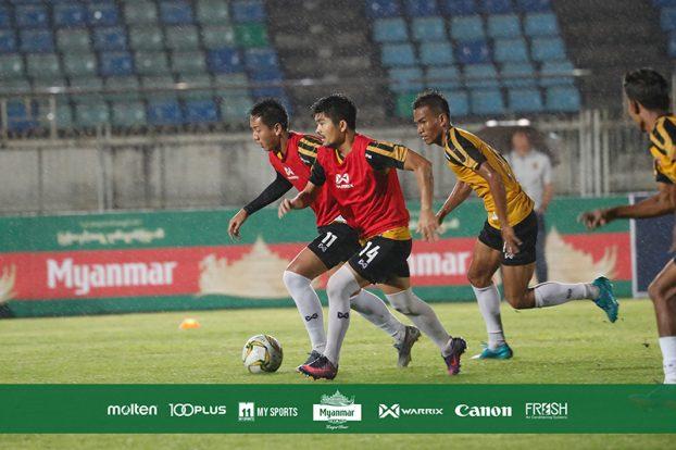 Japan Myanmar Football training 8