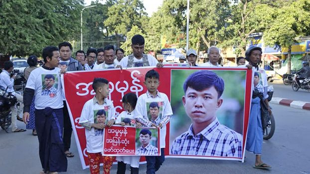 3 year anni killed by Eleven Reporter Ko Soe Moe Tun 3