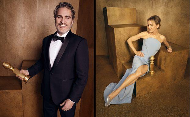 Joaquin Phoenix Renée Zelwegger Golden Globe