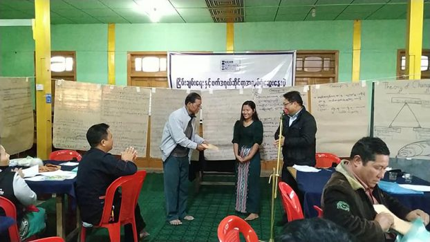 Peace & Fedreal Disscussion Workshop Myit Kyi Na 6