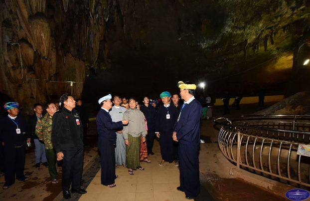 President U Win Myint Htan Sann Camp 5