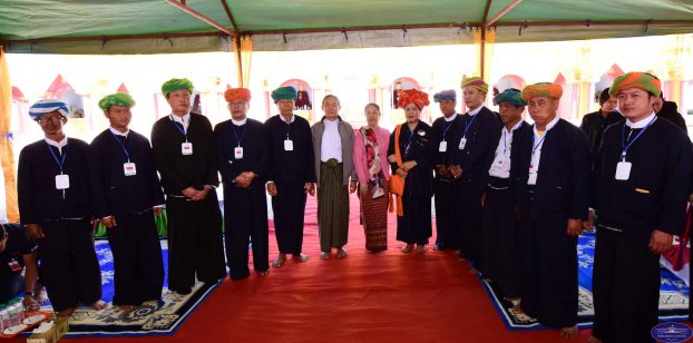 President U Win Myint Htan Sann Camp 9