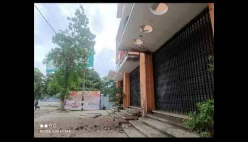 မုံရွာမြို့ MyTel ရုံး၌ ဗုံးပေါက်ကွဲ